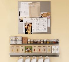 Short on cabinets? Here's a great looking option - just be sure to keep the shelves organized. #aclearplace