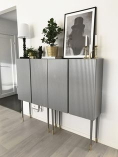 IKEA hack: Inspiration to redo the Ivar cabinet from IKE .- IKEA-hack: Inspiration till att göra om skåpet Ivar från IKEA The wooden Ivar storage cabinet from IKEA can be changed in many ways. Here are five fantastic makeovers to be inspired by! Ikea Furniture Hacks, Ikea Hacks, Furniture Ideas, Cheap Furniture, Ivar Ikea Hack, Furniture Buyers, Furniture Nyc, Furniture Market, Furniture Removal