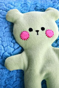 Teddy Bear rice heating pad! Warm Bed Bear by KCsCre8tions on Etsy, $16.00 <-- I want this!!!