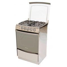 Cetron cocina ecg2040lis0 4 quemadores con horno for Encendido electronico cocina whirlpool