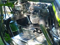 triumph motorcycle engines | Click Back for more Double Trouble