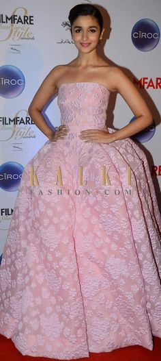 Must have Bollywood Style! Find a style match to the celebrity look of your choice @http://www.kalkifashion.com/lehengas/indowestern-gowns-lehengas.html