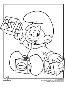 Smurfs Coloring Pages Baby Smurf Coloring Page – Cartoon Jr. Mickey Mouse Coloring Pages, Bear Coloring Pages, Pokemon Coloring Pages, Colouring Pics, Coloring Pages To Print, Printable Coloring Pages, Adult Coloring Pages, Coloring Pages For Kids, Coloring Books