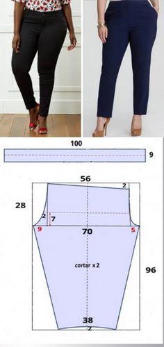 Sewing Pants, Sewing Clothes, Sewing Basics, Couture, Palazzo Pants, Capri Pants, Trousers, Stitch, Womens Fashion