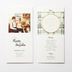 席次表 Natural -green-|LOUNGE WEDDINGの席次表