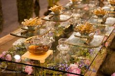 """""""Japanese Tea Garden"""" by Common Plea Catering, Inc.  Tabletop Contest - Most Creative, Best in Show and Tutera's Pick winner"""