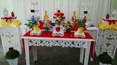 Decoração Branca de Neve estilizada Festa 18 anos