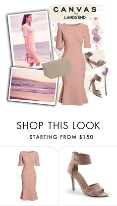 """""""Paint Your Look With Canvas by Lands' End: Contest Entry"""" by ladygroovenyc ❤ liked on Polyvore featuring Lands' End, Canvas by Lands' End, paintyourlook, canvasbylandsend and youaretheartist"""