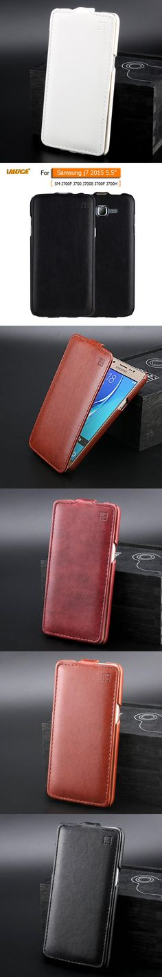 for samsung j7 case cover For Samsung Galaxy J7 2015 J700 J700F flip case cover mobile phone accessories iMUCA brand