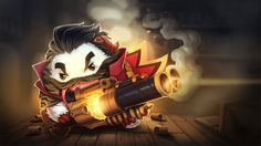Graves Champion Poro Wallpapers - Album on Imgur