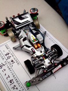宇宙刑事アバンテJr.です。カッコイイ... 2012年2月ミニ四駆グランプリ東京大会コンクールデレガンスより