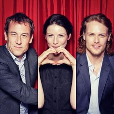 Tobias, Cait and Sam
