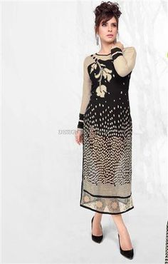 #Long #kurti with digital print #new #design georgette top #Longkurti #digitalprint #newdesign #georgettetop