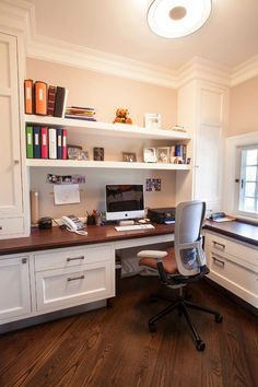 Home Office Transitional design