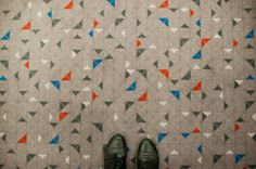 beautiful floor, via paperplane.