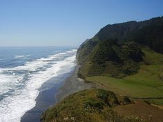 no place like the beach in Coi Coi (near Temuco, Chile)
