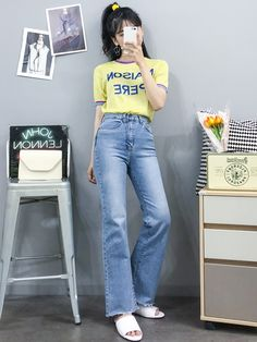 Here Are Some Best korean fashion outfits 0570 Korean Fashion Trends, Korean Street Fashion, Korea Fashion, Asian Fashion, Fashion Pants, Girl Fashion, Fashion Looks, Fashion Outfits, Fashion Design