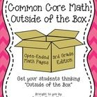 THIS+NEW+PRODUCT+IS+20%+OFF+FOR+THE+NEXT+2+DAYS!!!  Common+Core+Math:+Outside+of+the+Box+ (3rd+Grade+Edition)  Included+in+the+Common+Core+Standard...