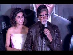 PINK trailer launch | Amitabh Bachchan, Taapsee Pannu.