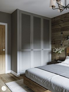 Wardrobe Interior Design, Wardrobe Design Bedroom, Home Interior Design, Small Room Bedroom, Home Decor Bedroom, Modern Bedroom, Home Room Design, House Design, Floor To Ceiling Cabinets