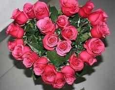 Valentine Flower Arrangements, Creative Flower Arrangements, Church Flower Arrangements, Rose Arrangements, Church Flowers, Valentines Flowers, Beautiful Flower Arrangements, Funeral Flowers, Deco Floral