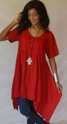 Lagenlook - lotustradersclothing.com red *~<3*Jo*<3~*