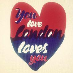 London loves you!