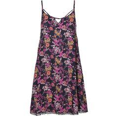 O'Neill Kleid maxi »Rosebowl« für 59,99€. A-Shape, All Over Print, Rückenschnürung bei OTTO