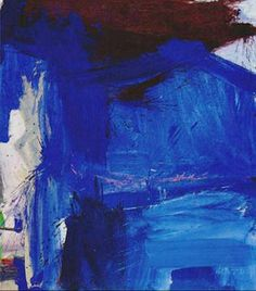 Willem de Kooning I just want to jump into this painting and swim around in those blues.