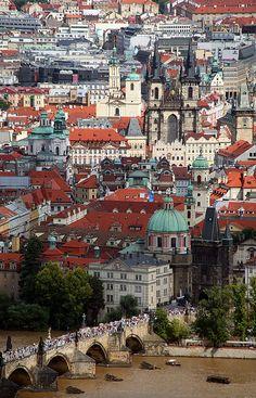 Overcrowded Prague