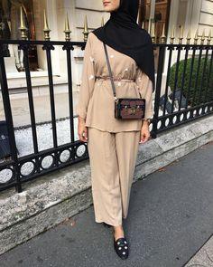 New Hijab Fashion : Hijab Fashion Modest Fashion Hijab, Hijab Chic, Abaya Fashion, Fashion Outfits, Womens Fashion, Stylish Outfits, Hijab Outfit, Hijab Dress, Swag Dress
