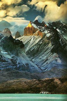 Los Cuernos, Chile Torres del APine National Park   www.facebook.com/loveswish