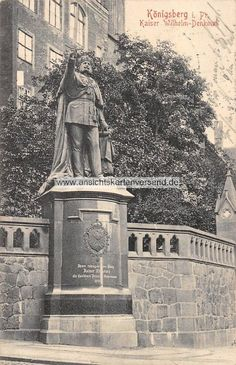 Königsberg Pr.    Kaiser Wilhelm-Denkmal