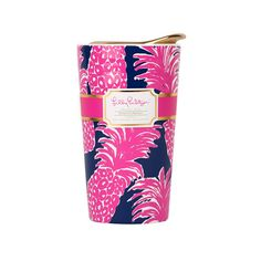 Lilly Pulitzer Travel Mug - Flamenco