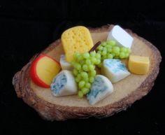Miniature Clay Fairy Food cheese board by Michele Barrow-Belisle, via Behance