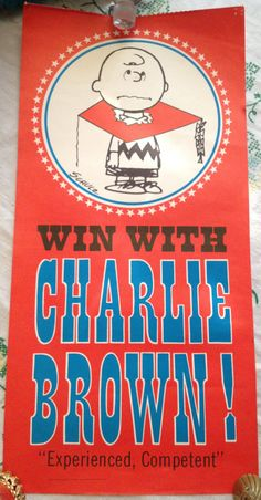 Win With Charlie Brown Poster