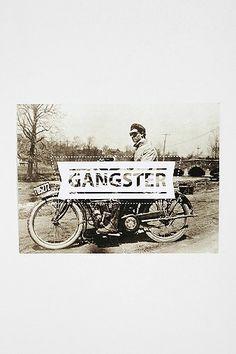 #poster #walldecor Gangster Poster