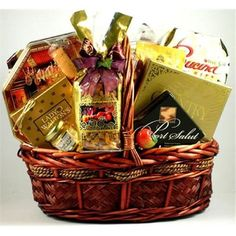 Gift Basket Village 5StGo Five Star Gourmet Gift Basket, As Shown