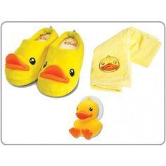 """Giftset """" De Douche Duckies"""" Mooie giftbox met schattige badkamer producten in de vorm van eendjes voor de kleine. #Ideaa cadeaus voor kinderen"""