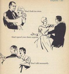 Vintage etiquette