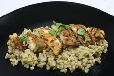 Whole grains are an important part of a balanced diet, and sorghum is a great choice to add to your plate. Try it with this Lemon Chicken over Sorghum Pilaf. Healthy Chicken Recipes, Cooking Recipes, Rice Recipes, Lectin Free Diet, Grain Foods, Latest Recipe, Lemon Chicken, Savoury Dishes, Stuffed Green Peppers