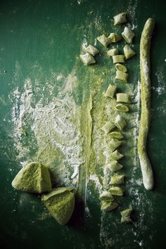 Matcha Gnocchi with Ginger, Orange Butter, & Butternut Squash / Princess Tofu