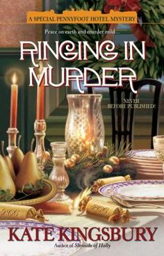 Ringing in Murder by Kate Kingsbury. #christmas