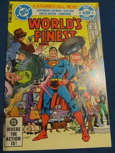 World's Finest #279  NM- 9.2 Superman, Batman, Shazam, Green Arrow, Hawkman