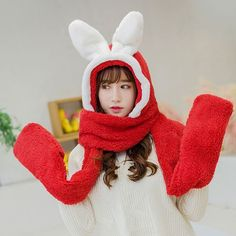 Novelty & Special Use Children Corgi Animal Hat Hood Scarf Corgi Hats Caps Winter Warm Plush Earmuff Beanies Helmet Mittens Hooded For Kids Child Costume Props