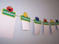 Elmo sésamo foto Banner Banner Elmo Sesame por PeppyPartyPalace