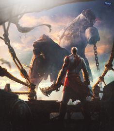 Kratos God Of War Wallpaper By FXMX