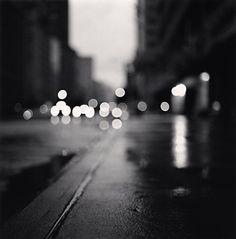 .. Michael Kenna - Morning Traffic, Midtown, New York City, USA, 2000 ..