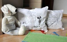 Geronimo Stilton párna gyerekeknek, gyorsan, egyszerűen - Masni / Geronimo Stilton pillow for kids, super easy and quick DIY