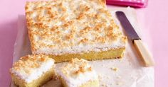 This lemon slice makes the perfect Sunday afternoon treat.